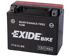 Accumulatore Exide 10 Ah
