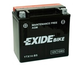Accumulatore Exide 12 Ah