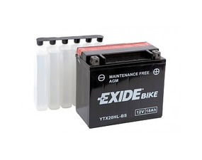 Accumulatore Exide 18 Ah