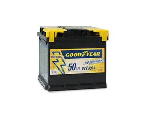 "Accumulatore Goodyear 50 AMP BATTERY ""POWER PLUS """