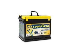 "Accumulatore Goodyear 55 AMP BATTERY ""POWER PLUS """