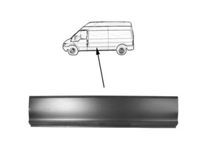 Bordo centrale Ford Transit 01- inferiore, 119cm