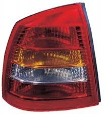 Luce posteriore  Opel Astra G 98- 4D scuro